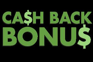 cash back бонус