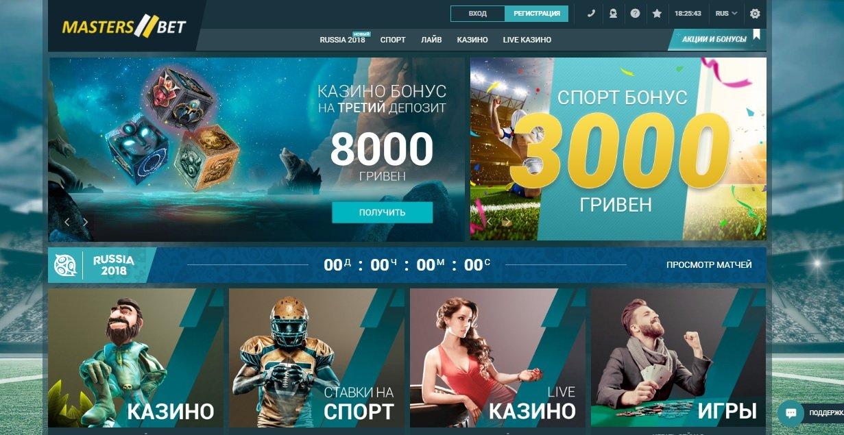 онлайн казино со ставками на спорт
