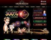 Обзор онлайн казино Grand Macao (Гранд Макао)