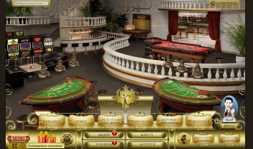 Обзор онлайн казино Grand Casino