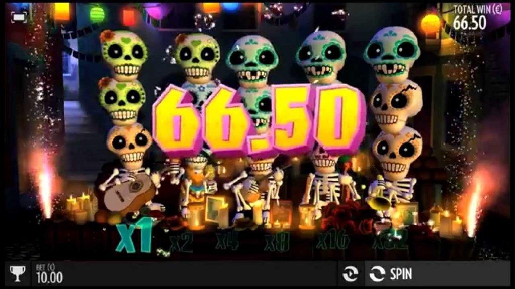 Esqueleto Explosivo игровой автомат от Thunderkick