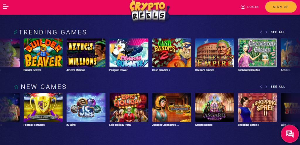 Обзор онлайн казино Crypto Reels Casino